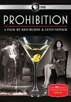 Cover image for Prohibition [videorecording (DVD)]