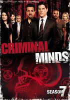 Cover image for Criminal minds. The seventh season [videorecording (DVD)]
