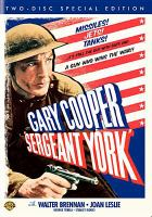 Cover image for Sergeant York [videorecording (DVD)]