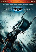 Cover image for The dark knight [videorecording (DVD)]