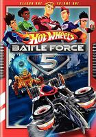 Cover image for Hot Wheels battle force 5. Season one, volume one [videorecording (DVD)]