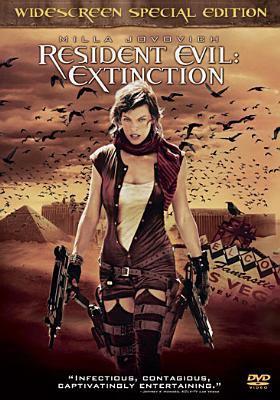 Cover image for Resident evil. Extinction [videorecording (DVD)]