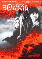 Cover image for 30 days of night [videorecording (DVD)]
