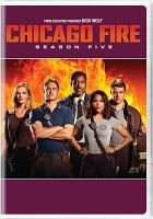 Cover image for Chicago fire. Season five [videorecording (DVD)].