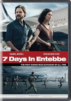 Cover image for 7 days in Entebbe [videorecording (DVD)]