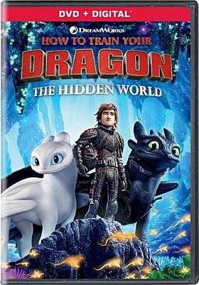 Cover image for How to train your dragon, the hidden world [videorecording (DVD)] / Dreamworks Animation ; produced by Bradford Lewis, Bonnie Arnold ; written and directed by Dean DeBlois.