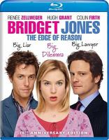 Cover image for Bridget Jones [videorecording (Blu-ray)] : the edge of reason