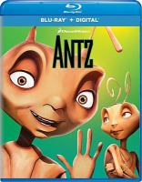 Cover image for Antz [videorecording (Blu-ray)]