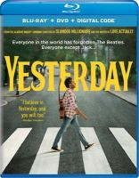 Cover image for Yesterday [videorecording (Blu-ray)]