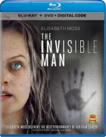 Cover image for The invisible man [videorecording (Blu-ray)]
