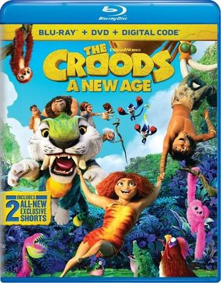 Cover image for The Croods: a new age [videorecording (Blu-ray)]