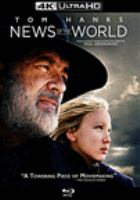 Cover image for News of the world [videorecording (Blu-ray)]