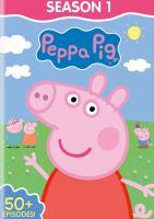 Cover image for Peppa pig. Season 1 [videorecording (DVD)].
