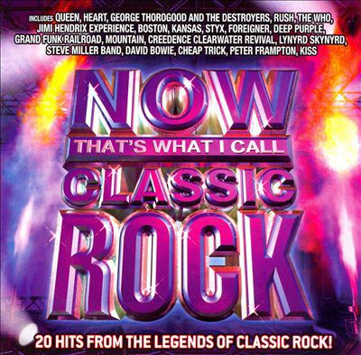 Cover image for Now that's what I call classic rock [sound recording (CD)] : 20 hits from the legend of classic rock!.