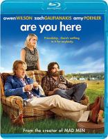 Cover image for Are you here [videorecording (Blu-ray)]
