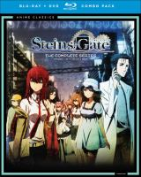 Cover image for Steins ; Gate [videorecording (Blu-ray)] : the complete series