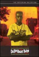 Cover image for Do the right thing [videorecording (DVD)]