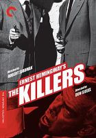 Cover image for Ernest Hemingway's The killers [videorecording (DVD)].