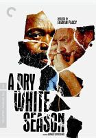 Cover image for A dry white season [videorecording (DVD)]