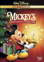 Cover image for Mickey's once upon a Christmas [videorecording (DVD)]