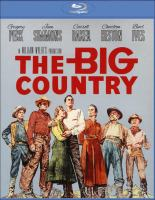 Cover image for The big country [videorecording (Blu-ray)]