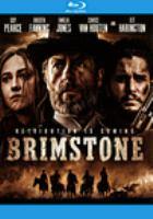Cover image for Brimstone [videorecording (Blu-ray)]