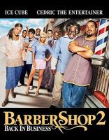 Cover image for Barbershop 2 [videorecording (Blu-ray)] : back in business