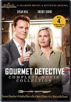 Cover image for The Gourmet Detective [videorecording (DVD)] : complete movie collection