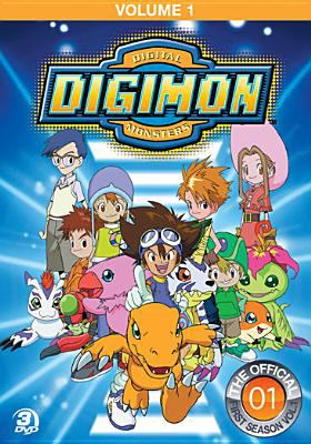 Cover image for Digimon digital monsters. The official first season, Vol. 1 [videorecording (DVD)]