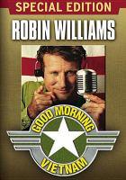 Cover image for Good morning, Vietnam [videorecording (DVD)]