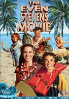 Cover image for The even Stevens movie [videorecording (DVD)]