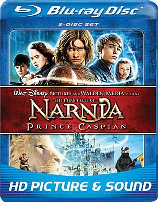 Cover image for The chronicles of Narnia, Prince Caspian [videorecording (Blu-ray)]