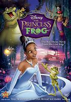 Cover image for The princess and the frog [videorecording (DVD)]