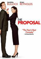 Cover image for The proposal [videorecording (DVD)]