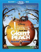 Cover image for James and the giant peach [videorecording (Blu-ray)]