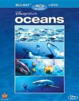 Cover image for Disneynature. Oceans [videorecording (Blu-ray)].