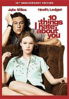 Cover image for 10 things I hate about you [videorecording (DVD)]