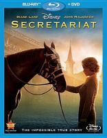 Cover image for Secretariat [videorecording (Blu-ray)]