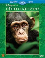 Cover image for Chimpanzee [videorecording (Blu-ray)]