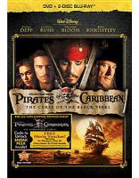 Cover image for Pirates of the Caribbean. The curse of the Black Pearl [videorecording (DVD)]