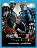 Cover image for Real steel [videorecording (Blu-ray)].