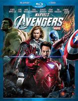 Cover image for Marvel's the Avengers [videorecording (Blu-ray)]