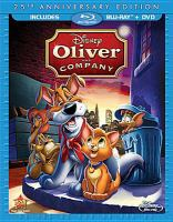 Cover image for Oliver and company [videorecording (Blu-ray)]