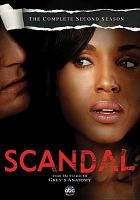 Cover image for Scandal. The complete second season [videorecording (DVD)]