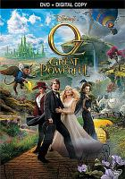 Cover image for Oz [videorecording (DVD)] : the great and powerful.