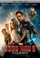 Cover image for Iron man 3 [videorecording (DVD)]