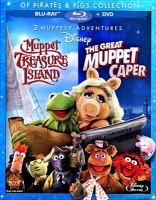 Cover image for Muppet Treasure Island ; The great Muppet caper.