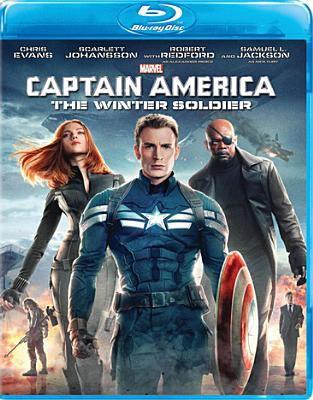 Cover image for Captain America. The winter soldier [videorecording (Blu-ray)]