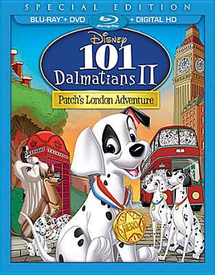 Cover image for 101 Dalmatians II [videorecording (Blu-ray)] : Patch's London adventure