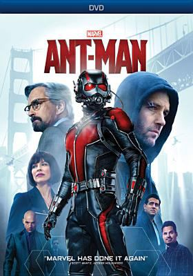 Cover image for Ant-Man [videorecording (DVD)]